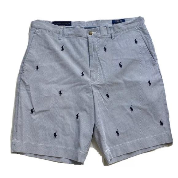Polo Ralph Lauren Classic Fit Pinstripe Pony Short